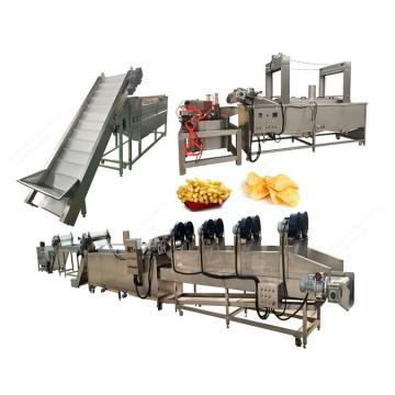 Automatic French Fries Snacks Food Making Machine