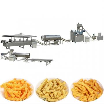 Frying Twisted 100-200 Kg/H Small Capacity Snacks Cheetos Kurkure Nik Naks Corn Curl Machine