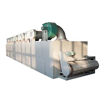 Continuous Conveyor Belt Municipal Sludge Sewage Dryer