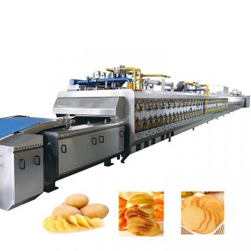 200kg/500kg/1000kg Fully Automatic potato chips Making Machine Frozen French Fries Production Line