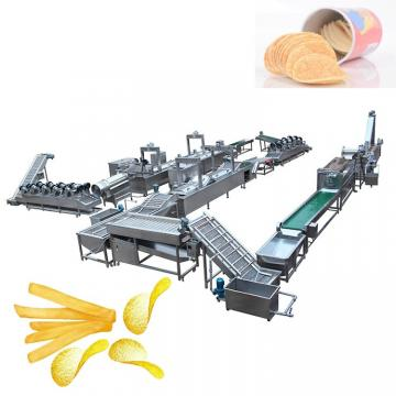 frozen french fries production line automatic frozen potato chips making machine