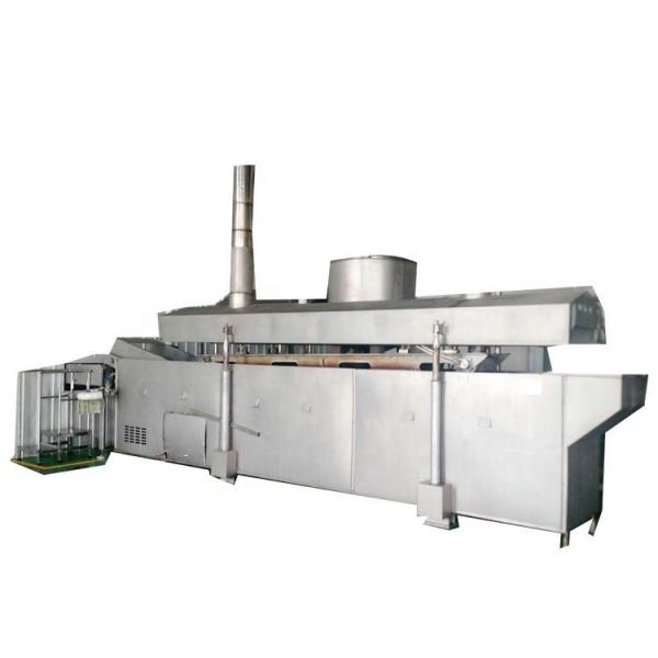 Fry Snack Pellet Extruder Machine/Extruded Potato Chips Making Machinery/Crispy Chip Pellet Snack Production Lin #1 image