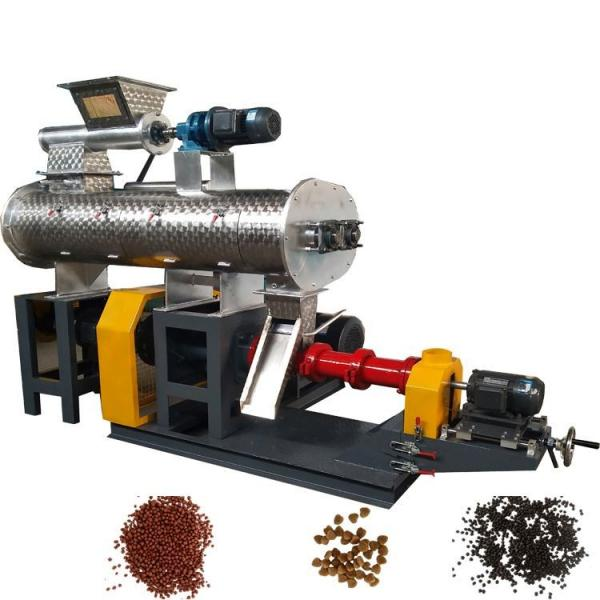 Puffed Extruder Betta Fish Food Pellet Making Equipment Production Line #1 image