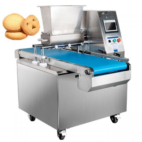 Wire Cutting Cookies Machine/Cookie Dough Extruder/Cookie Forming Machine #1 image