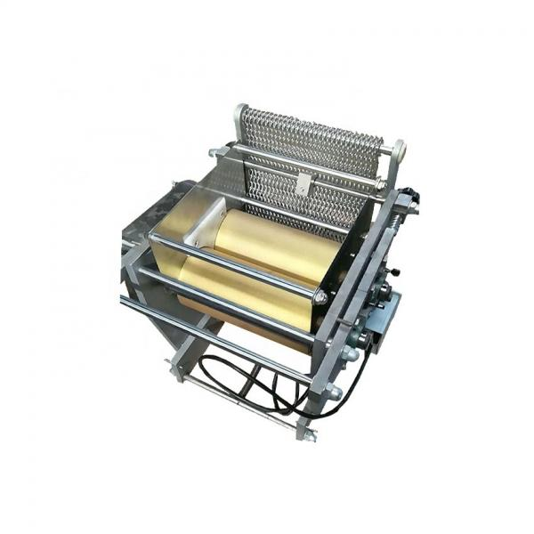 Factory Price Spring Roll Wrapper Making Machine/Injera Skin Maker/Crepe Tortilla Chapati Roti Machine #1 image