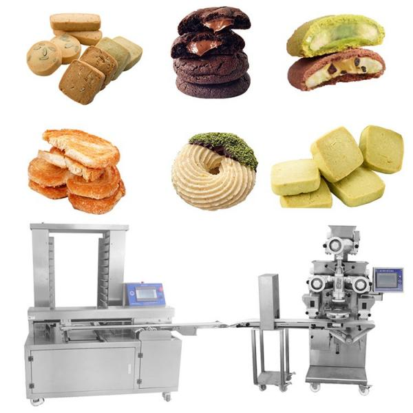 Cookies Production Line Cookies Biscuit Machine Factor Supplier Automatic Cookies Biscuits Stamping Machine Mooncake Production Line #1 image